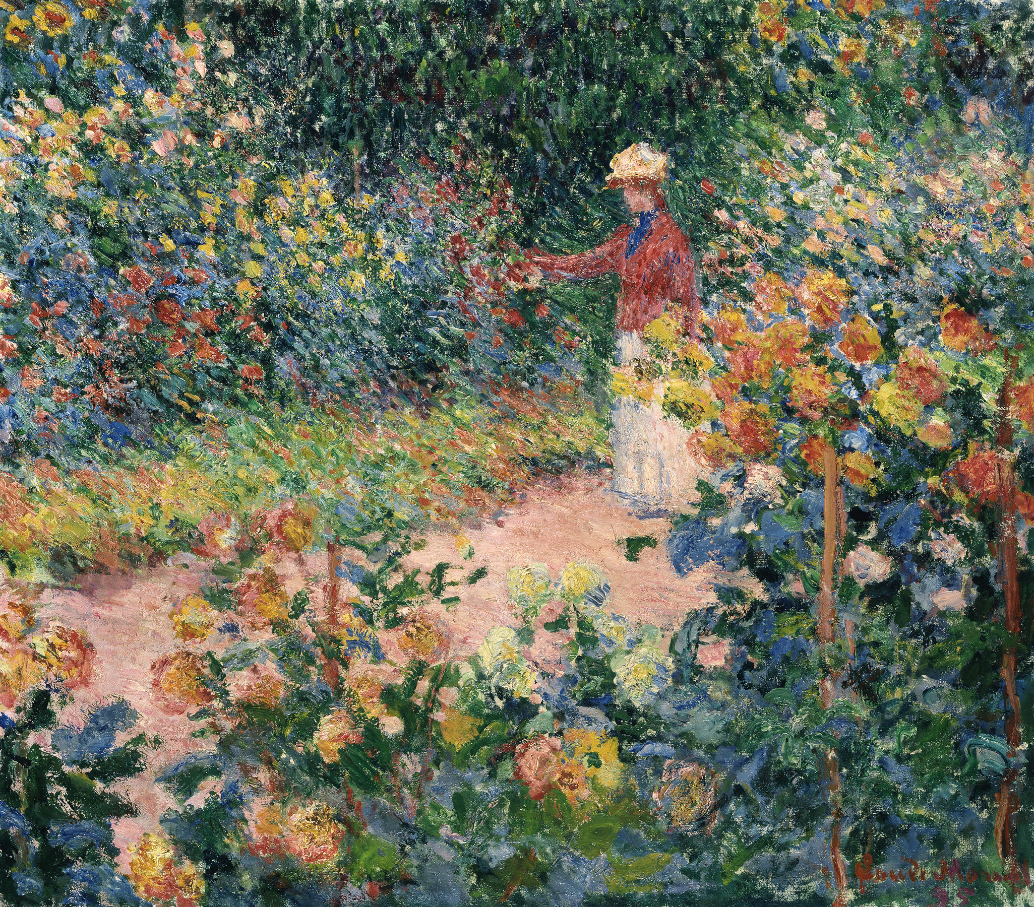 Monet S Garden At Giverny Claude Monet Stiftung Sammlung E G